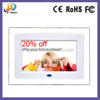 Cheap Universal 7 Inch Digital Photo Frame Remote Control Ads Lcd ...
