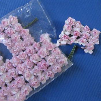 Amazon Hot Sale Colorful 144pcs Mini Cute Pink Diy Scrapbook Paper