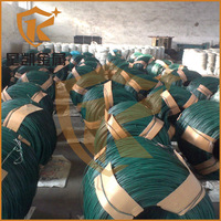 (factory) pvc coated rod iron wire