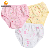 New Cotton Underwear Child Little Girls Modeling Kids Panties