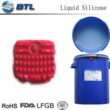 Transparent addition liquid silicone rubber