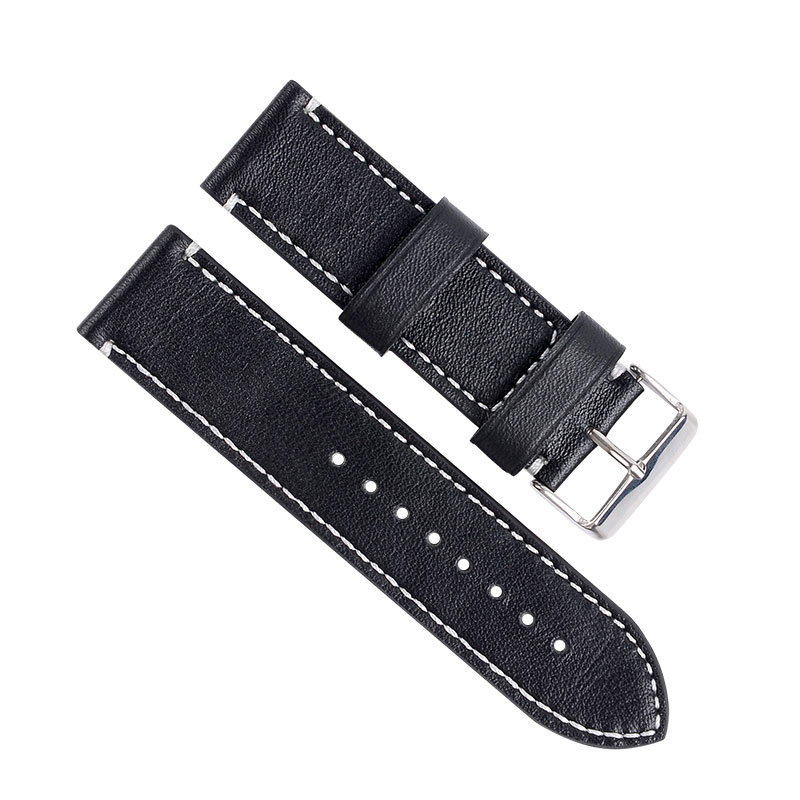 Shenzhen Factory Directly Selling Watch Band 22MM Leather Watch Strap 27mm Watch Strap