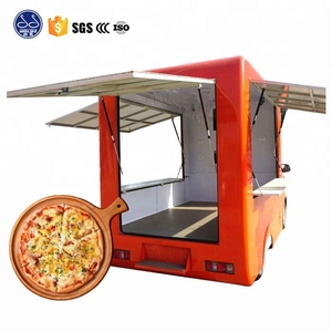 China fast food van or food truck for sale/Hot Dog Street Food Trailer/mobile food trucks
