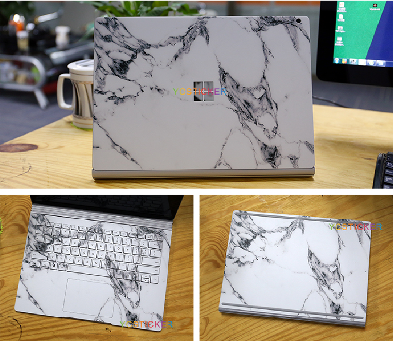 wholesale full body laptop skin vinyl decal skin graphics sticker for microsoft surface book