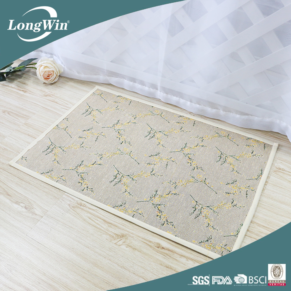 Tapestry material wholesale wholesale rubber kitchen mat