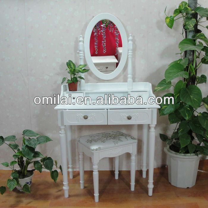 Reposteria espejo de tocador de madera moderno blanco fabricante ...