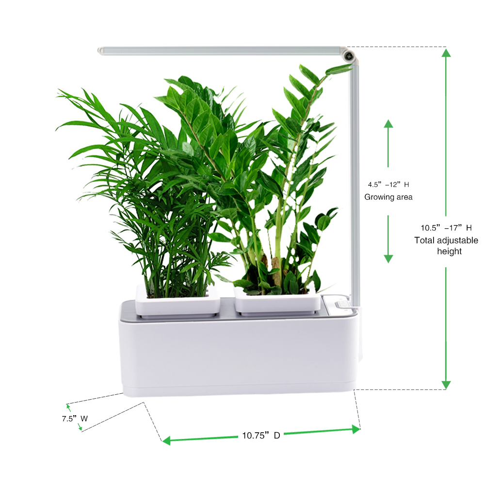 Hot Ing Home Herb Garden Kit Indoor Vegetable Diy Led Grow Light Kits Windmill Product On Alibaba