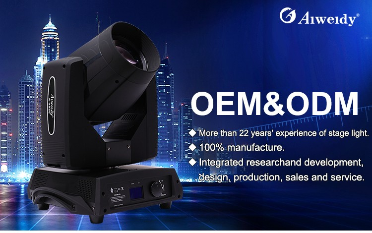 Professional stage lighting mechanical equipment sharpy beam 10r 280w moving head lighting beam light