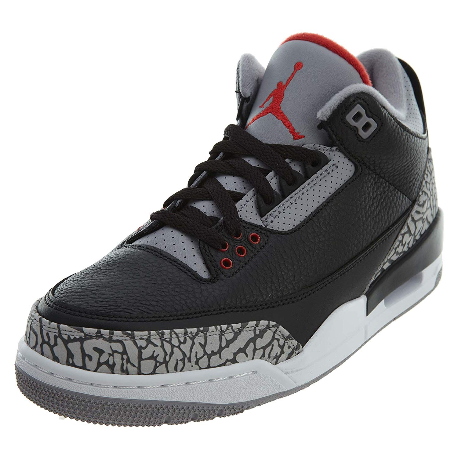 be361d3fb345d8 Get Quotations · Jordan 3 Retro Black Cement (2018) Mens