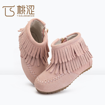 Pink Girls Boots/ankle Boots Snow/warm
