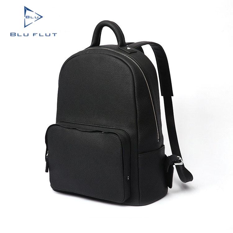 b2210f36e صديقة للبيئة مخصصة شعار أسود الظهر مدرسة حقيبة ، الأزياء حقيبة صغيرة سوداء