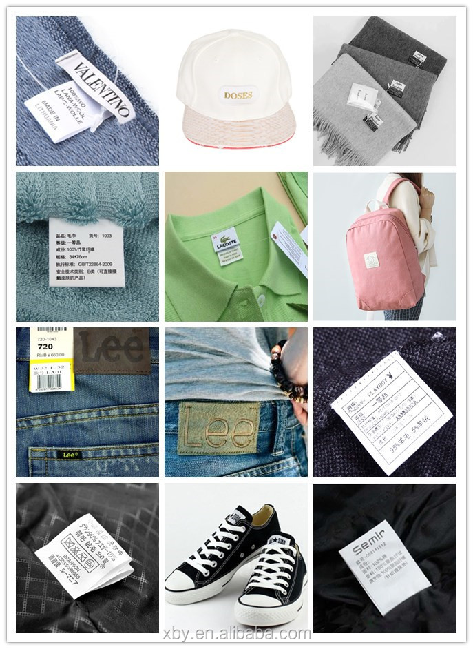 Custom clothing labels low minimum custom clothing labels small quantity