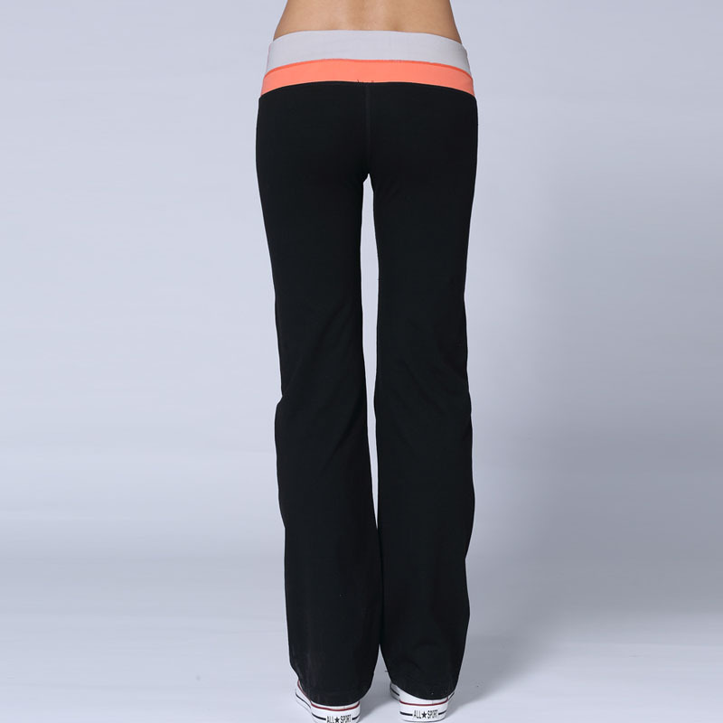 9830517693d92 Wholesale fitness apparel wide leg yoga sport pants SUPPLEX fabric spandex  flare pants