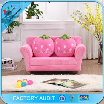 Children/kids Sofa Furniture Living Room Strawberry 2 Seats Sofa ...