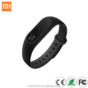 Global Version Xiaomi Mi Band 2 CE Identification Smart Fitness Wristband OLED Display Touchpad Heart Rate Monitor Bluetooth 4.2