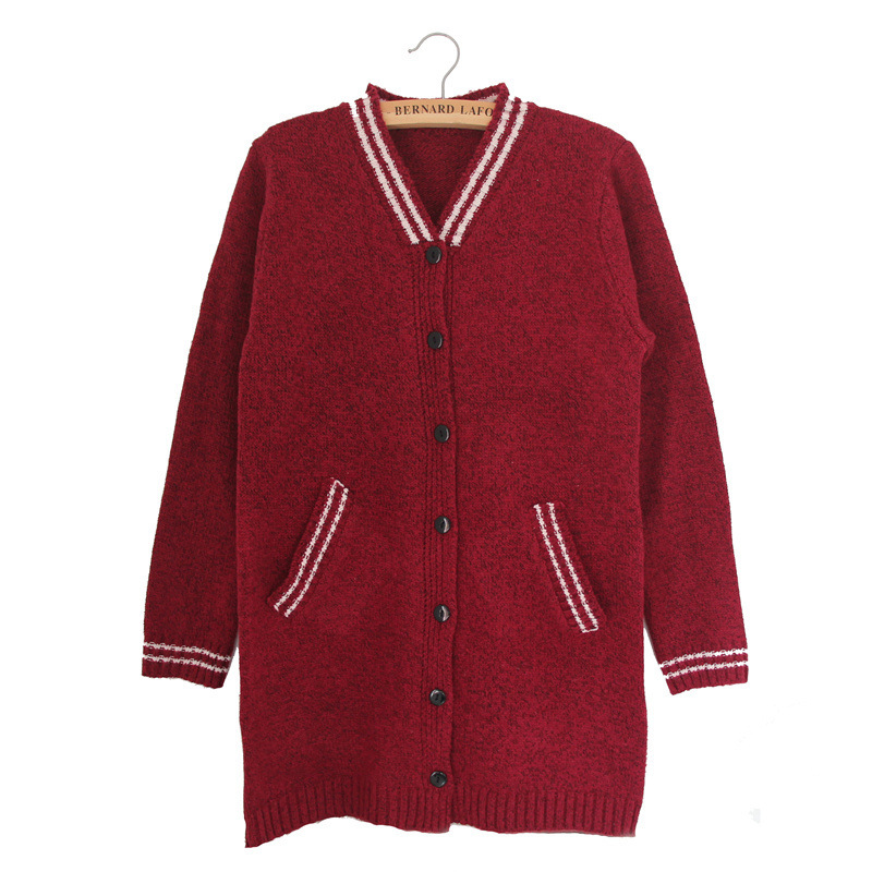 Get Quotations · 2015 Winter Autumn Women Cardigans Sweaters Korea Fashion Cute  Long Sleeve Cotton Knitting Sweater Fall Single ab9733f45