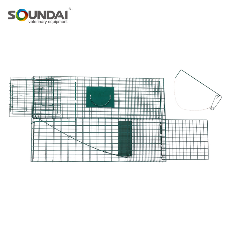 Wholesale China Merchandise Live Portable Rabbit Cage SD649 Collapsible Animal Trap