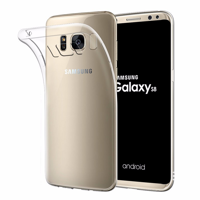 new style 71ff4 037e0 Xguo For Galaxy S8 Slim Bumper Case With Soft Flexible Tpu Material For  Samsung S8 Case Cover - Buy For Samsung S8 Case,For Samsung Galaxy S8  Case,For ...