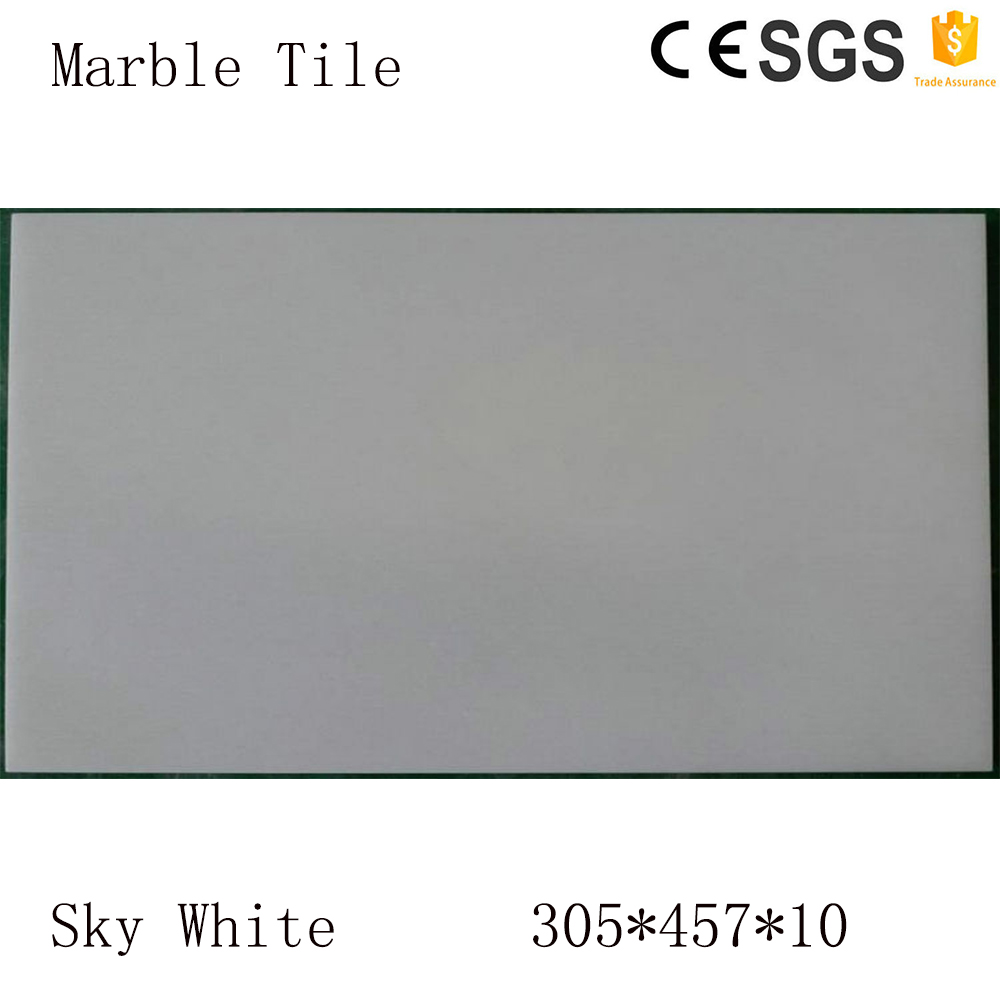 Sky White diamond shaped tile with long service life