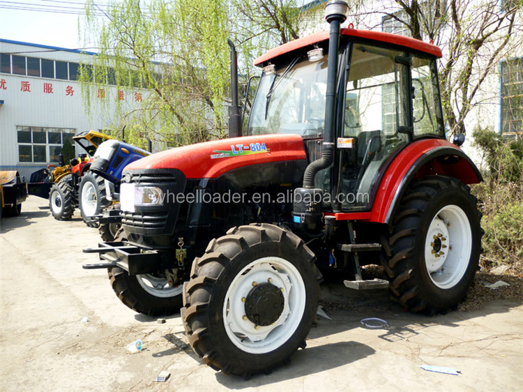 Cheap LUTONG LT804 80 HP Agricultural Tractor 4WD