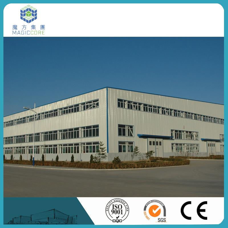 2016 super strong shanghai rent warehouse factory directly selling prefabricated steel warehouse