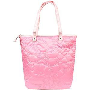 [ My Melody ] quilt stitch tote bag pink TM Sanrio casual quilt bag series