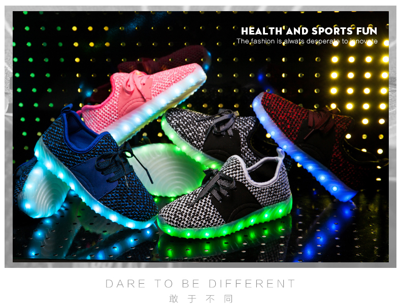 New Model Cheap Flash Light Up LED Shoes for Kids