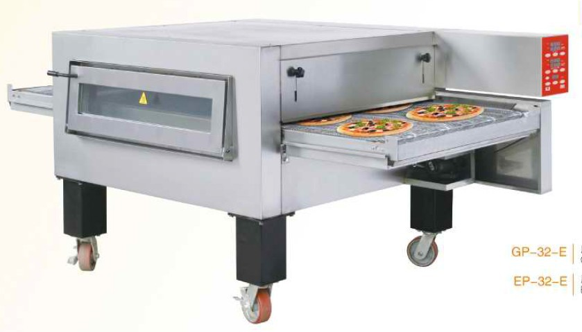 Electric Conveyor Pizza Oven Automatic Pizza Making