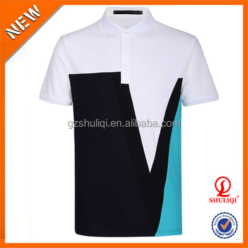 33bfde083 Polo Shirt Men/Custom Design Color Matching Polo Shirts/Wholesale Sport Man  Gym Wear