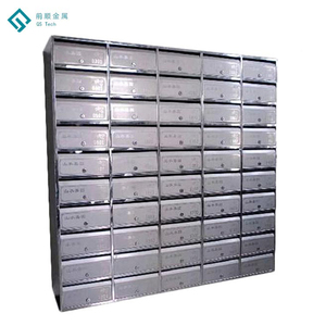 Indoor&Outdoor Use Post Box Standard Size Mailboxes With Custom Printing, Durable Lockable Letter Boxes