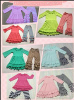 Fall 2016 Children Boutique Clothing Sets Cheap Wholesale Girls Christmas Suits From Online In Alibaba