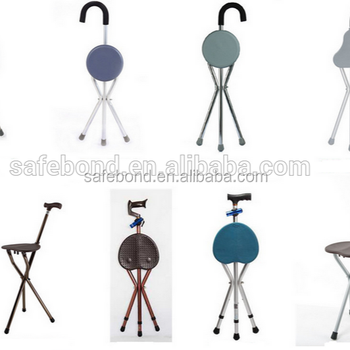Walking Cane With Chair Function Walking Aids Seat Sticks Walking Cane Seat/Stick  Chair