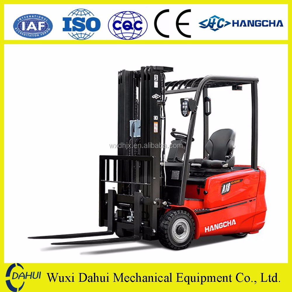 2.5ton ac electric forklift price with 4m/4.5m/6m mast