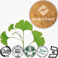 Direct manufacturer supply Natural ginkgo biloba extract 24:6% water soluble5%