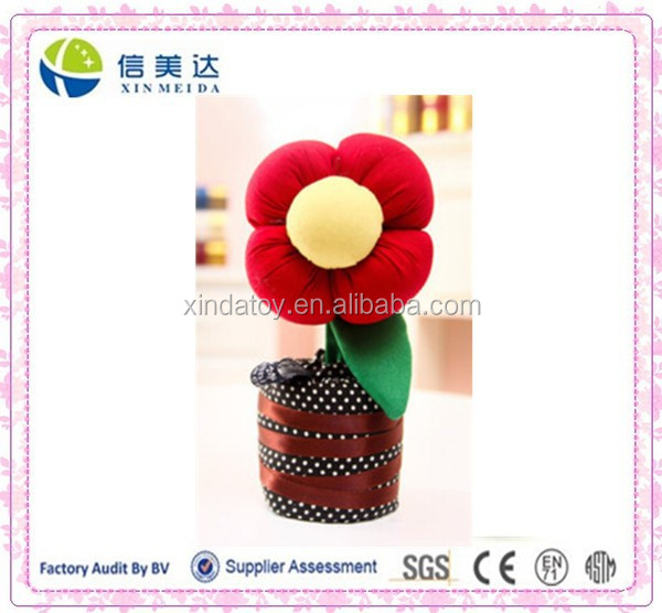 Plush air purification Bamboo Charcoal Flower toy