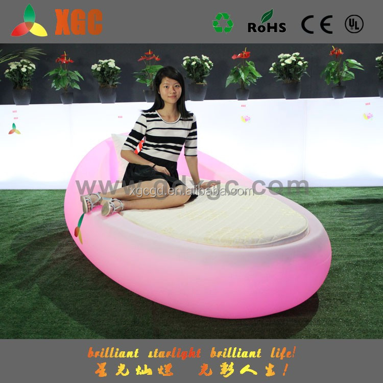 LED lighitng Online shopping led lighting bedroom furniture small size round bed