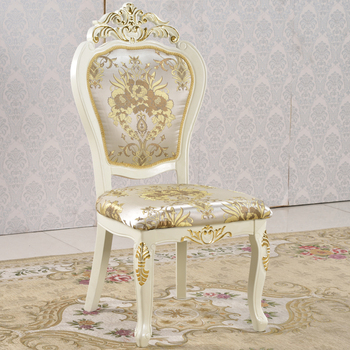 Solid Rubber Wood Upholstered Seat Gold Banquet Hall Chairs For Sale