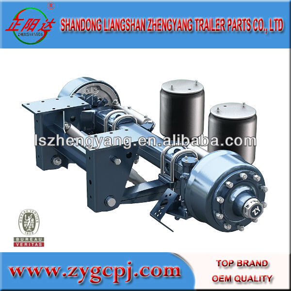 China Supplier Semi Trailer Parts,Trailer Axles With Air ...