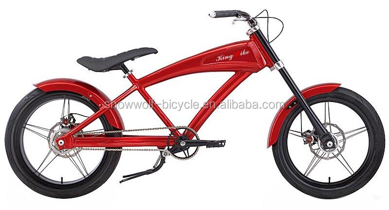 Chopper Bike Men Chopper Beach Cruiser Bike Red Color Chopper For ...