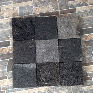 Hot selling Black Basalt Lava Stone Swimming Pool tiles