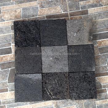Piedras Verde Hitam Bali Black Natural Lava Stone Ceramic Tiles ...