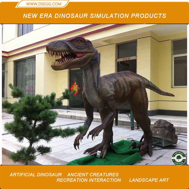 artificial life-size robotic moving dinosaur electronic dinosaur