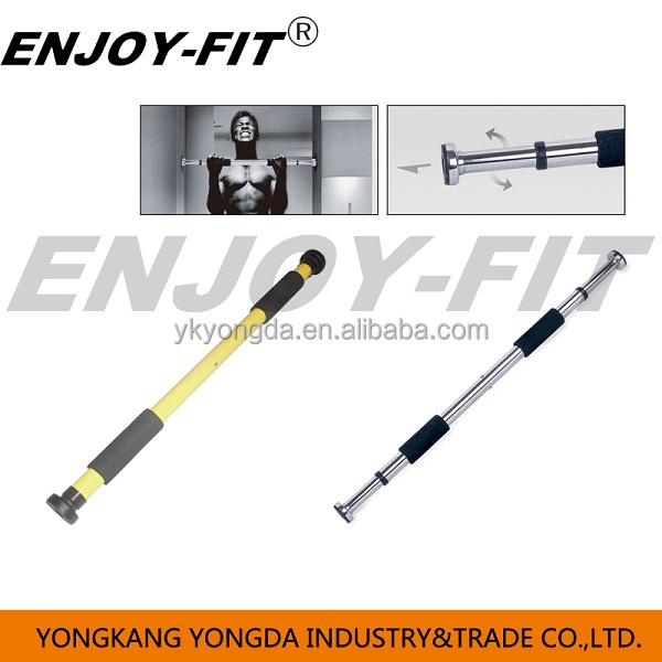 Home Exercise Workout Training Gym Bar Chin Pull Up Size Adjustable Fitness