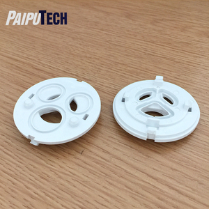 Food Grade PP PC PS ABS Injection Molded Plastic Parts,White PC+ABS Plastic Injection Molding Products