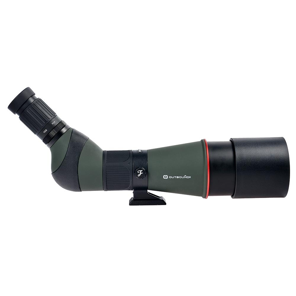 Waterproof 45-Degree Angled Eyepiece Zoom Telescope Monoculars 20-60x80 Birding Watching Hunting Spotting Scope with Tripod
