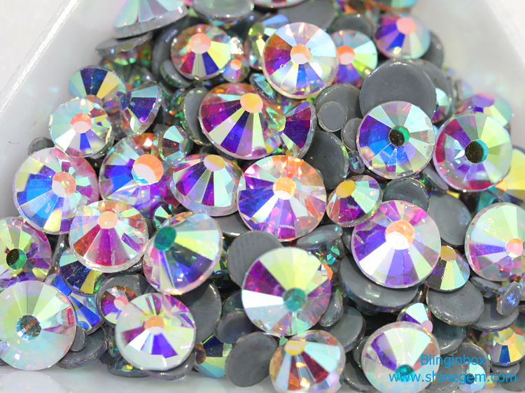 AAAA Quality Flat Back Hotfix Rhinestone Crystal Color Flatback Hot Fix Rhinestone
