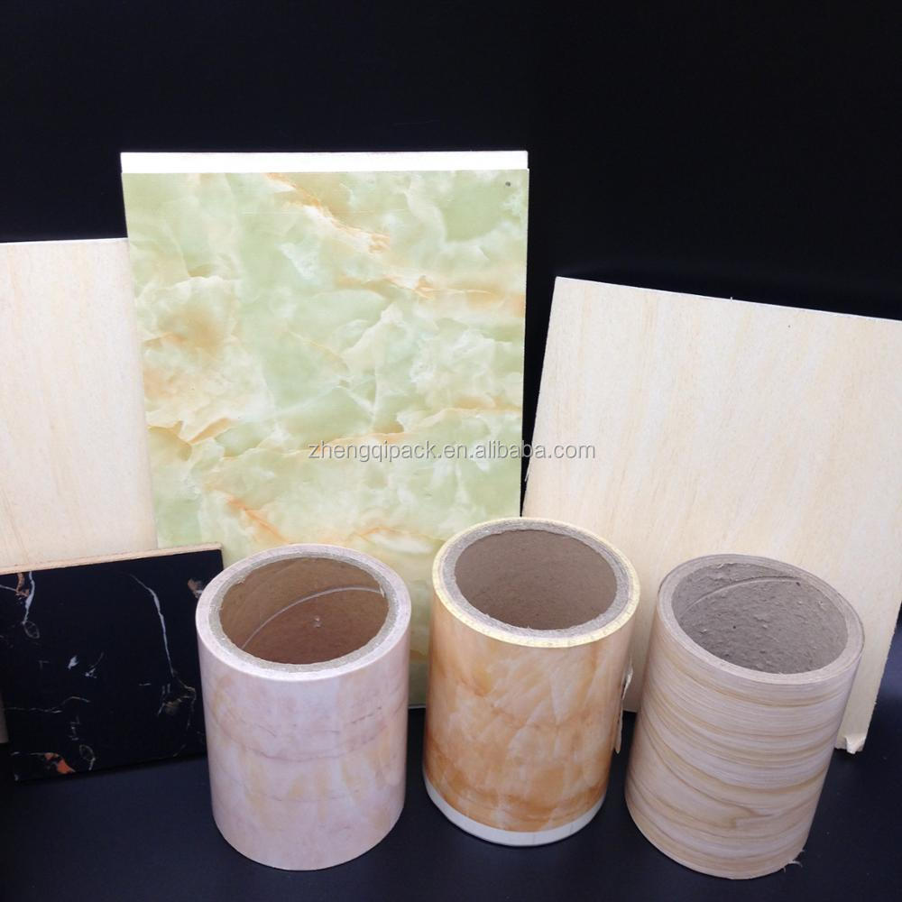 factory wholesale high quality UV treatment available PET hot foil stamping for plastic PVC WPC MDF PS ABS