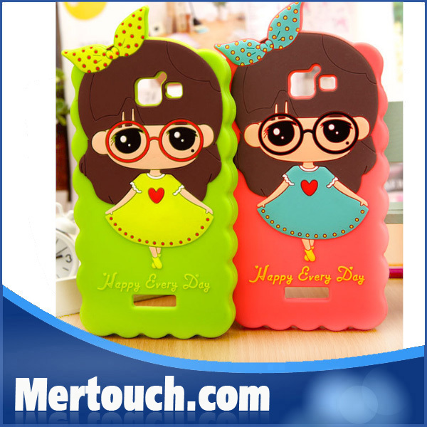 little bush hot selling nice case for huawei honor 3c , cover case for huawei honor 3C , soft cover case for huawei 3C