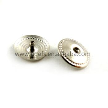 Mini Brass snap button male button