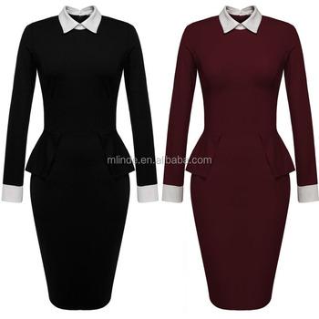 6983350c7 Vestidos para mujeres mujer formal patrones de desgaste blusas traje de  falda occidental diseños para damas